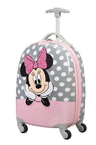Samsonite Disney Ultimate 2.0 – Spinner S Kindergepäck, 46,5 cm, 20,5 L, mehrfarbig (Minnie Glitter)
