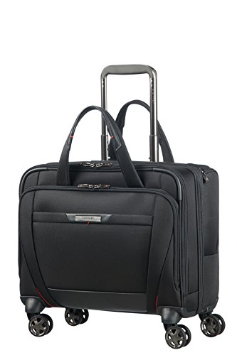 SAMSONITE PRO-DLX 5 – Spinner Tote for 15.6'' Laptop – 3.3 KG Reise-Henkeltasche, Schwarz