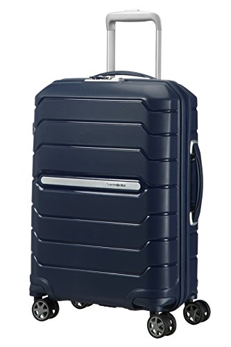 SAMSONITE Flux – Spinner 55/20 Expandable Bagage cabine, 55 cm, 44 liters, Navy Blau
