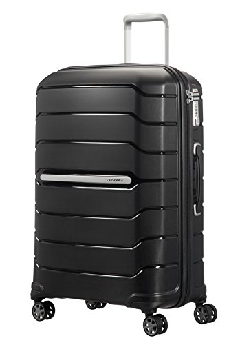 SAMSONITE Flux – Spinner 68/25 Expandable Bagage cabine, 68 cm, 95 liters, Schwarz