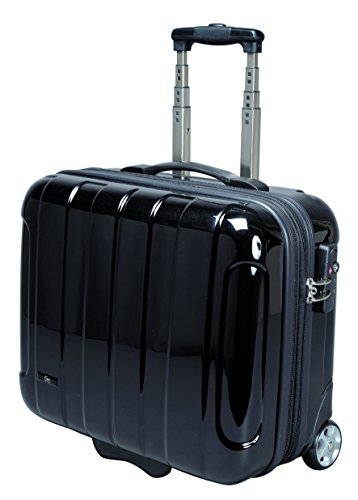 JSA 45513 – Businesstrolley aus ABS-Polycarbonatmix, schwarz