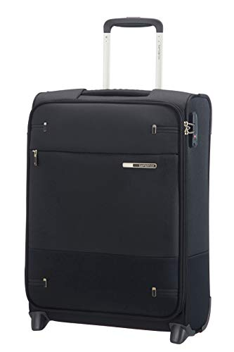 Samsonite Base Boost – Upright S (Länge 40 cm) Handgepäck, 55 cm, 41 L, Schwarz (Black)